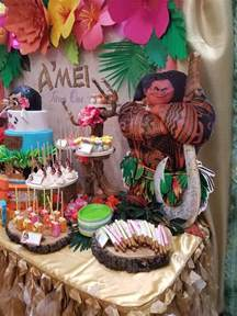 Moana Luau Birthday Party Ideas
