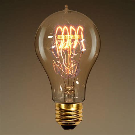 antique light bulbs 40 watt vintage light bulb clear 4 loop