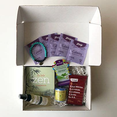 stress boxes subscription anxiety