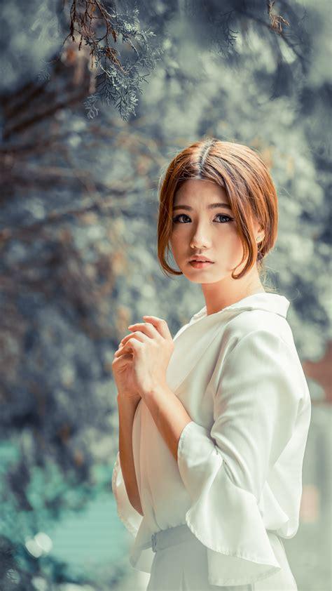 Cute Asian Girl Winter Photoshoot Free 4K Ultra HD Mobile ...