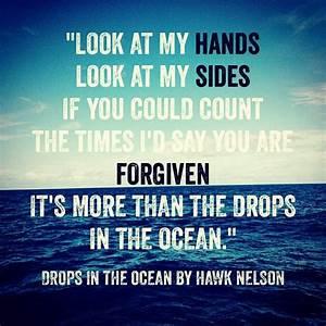 """Drops in the Ocean"" - Hawk Nelson | Song Lyrics ..."