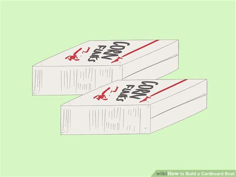 Cardboard Boat Sealant by 3 Ways To Build A Cardboard Boat Wikihow
