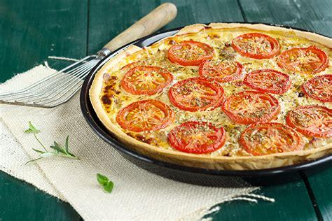 cuisine faite maison tarte au thon aux tomates et à la moutarde une cuisine culinaire