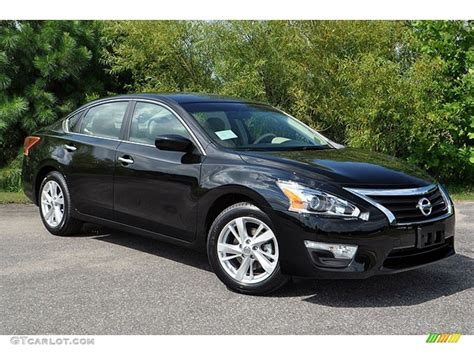 nissan altima black super black 2013 nissan altima 2 5 sv exterior photo
