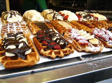 osaka food foodporn on penn appé what makes a real belgian waffle and where