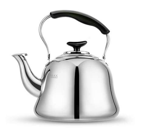 tea kettles teapot kettle stove stainless gas steel stovetop handle boil buying guide amazon bank quart bakelite mirror finish fast