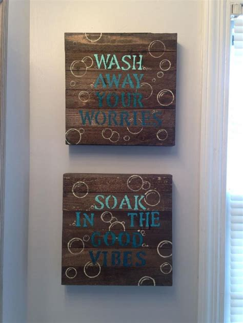 Looking for small bathroom ideas? 43 Simple But Beautiful Bathroom Wall Art And Decor | Bathroom wall art, Bathroom wall decor ...