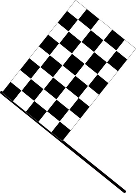 checkered flag clip art  clkercom vector clip art
