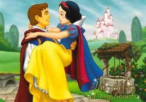 Disney Snow White and Prince Charming