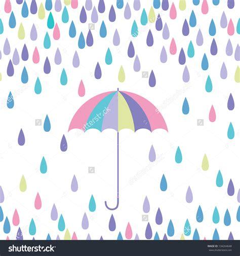 raindrops clipart umbrella raindrops pencil   color