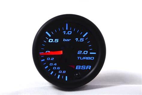 turbo pressure gauge bsr