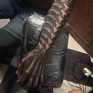 Skeleton Arm Tattoo | Best Tattoo Ideas Gallery