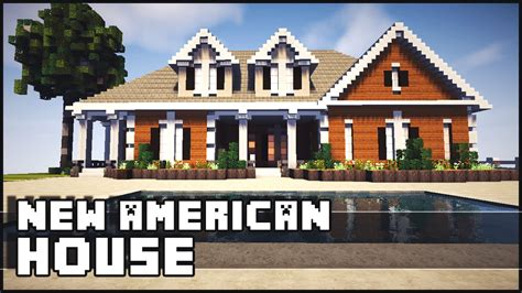 Minecraft American Style Mansion YouTube