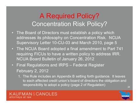 Required Policies And Risk Assessm…