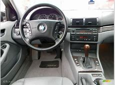 2001 BMW 3 Series 330i Sedan Grey Dashboard Photo