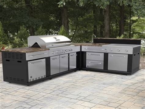 Lowes Outdoor Kitchen, Master Forge Modular Outdoor Set