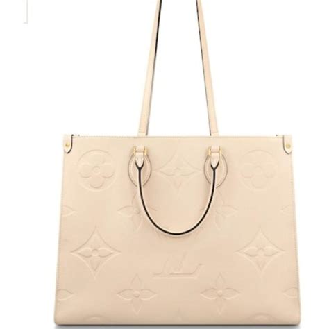 louis vuitton onthego giant limited edition large gm creme