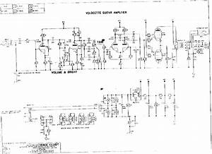 Trace Elliot Velocette Guitar Amplifier Service Manual