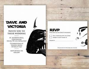 awesome invites https wwwetsycom listing 193885652 With star wars wedding invitations etsy