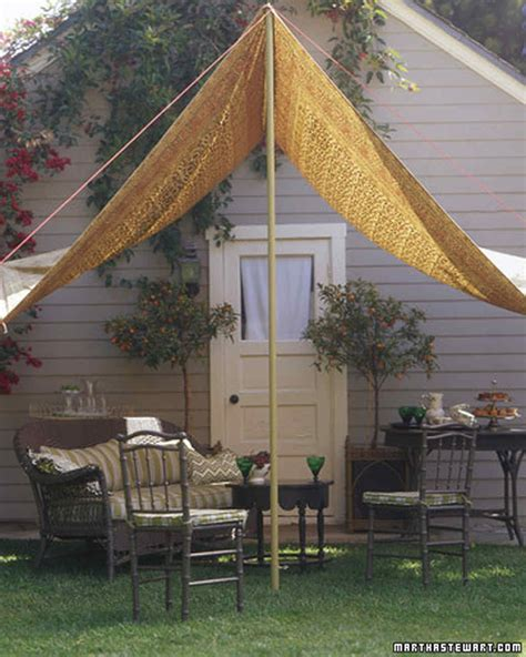 Shade Canopy by A Slice Of Shade Creating Canopies Martha Stewart