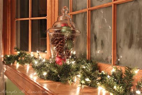 Fensterdeko Weihnachten Zweige by 1001 Ideen F 252 R Bezaubernde Fensterdeko Zu Weihnachten