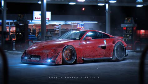 devil 350z devil z by the kyza on deviantart