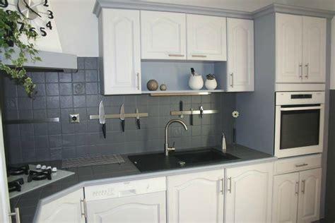 cuisine peinte déco cuisine relookee exemples d 39 aménagements