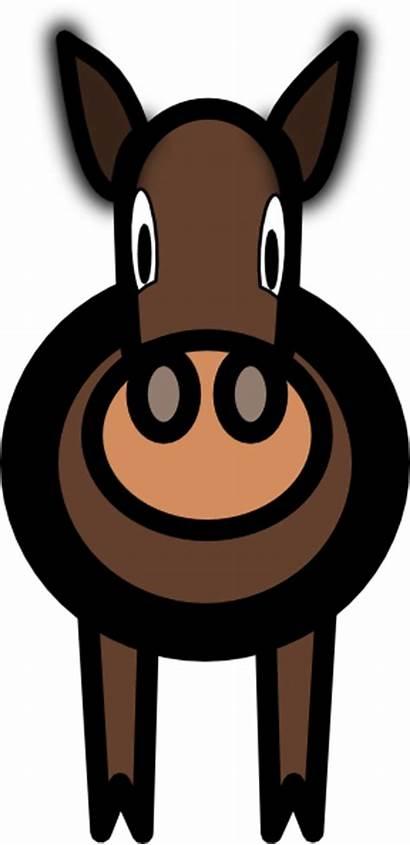 Mule Clip Clker Clipart Vector Hi