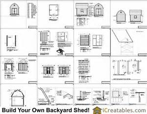 mini shed plans 10 x 12 wooden shed plans