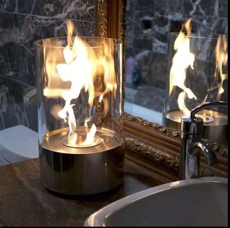 details  glass fireplace tabletop hurricane lamp