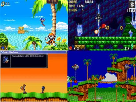 sonic fan made games games for gamers news and download of free and indie