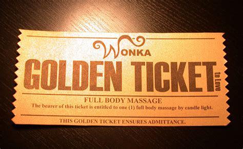 golden ticket charlie   chocolate factory