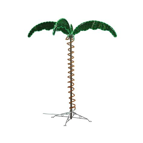 rope light palm tree decorative palm tree rope light ming s inc