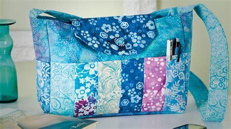 batik bag tote pattern sewing  scraps
