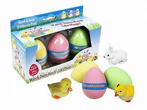 Hide 'em & Hatch 'em Eggs Are The Latest in Easter Egg Fun