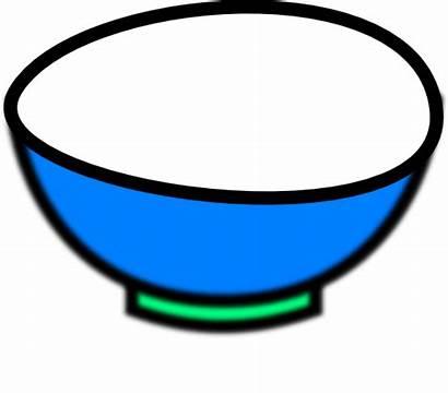 Bowl Clip Clipart Cereal Mixing Cliparts Empty
