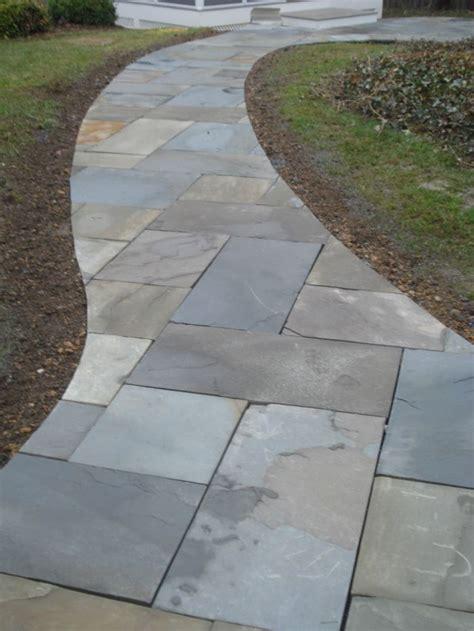 flagstone walkway outdoor living