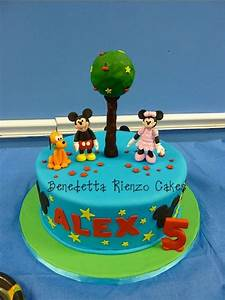 Mickey Mouse And Friends Birthday Cake - CakeCentral.com