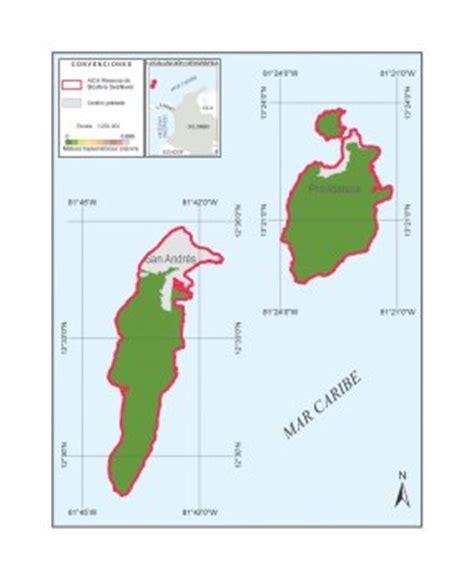archipielago de san andres providencia y santa geografico colombia
