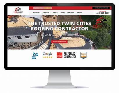 Roofing Websites Website Marketing Roofer Marketers Company