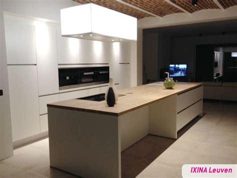 cuisine ixina keukenrealisatie ixina cuisine blanche witte keuken