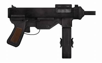 Gun 9mm Submachine Vance Fallout Guns Vegas
