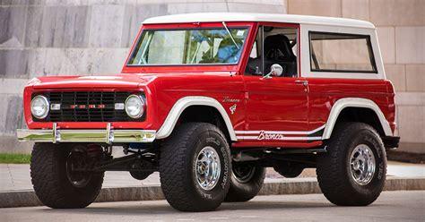 auction block restored  ford bronco  hiconsumption