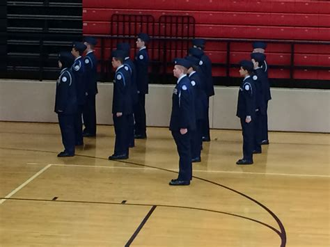 tecumseh drill meet air force jrotc