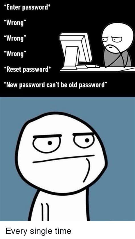 santai sejenak  password error meme anandastoon