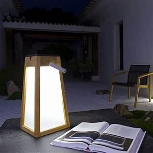 Lanterne Exterieur A Poser : lanterne de jardin solaire tecka sel les jardins zendart ~ Dailycaller-alerts.com Idées de Décoration