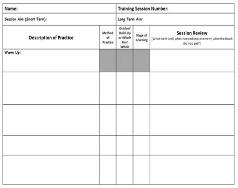 Personal Trainer Templates Free by Personal Plans Templates Qualads