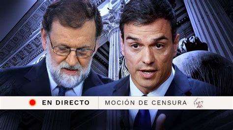 Denunciarán a 58 senadores que tumbaron moción de censura a mindefensa. El debate de la moción de censura a Rajoy, en directo