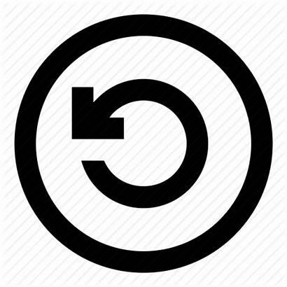 Reset Icon Icons Return Arrow Round Mikrotik