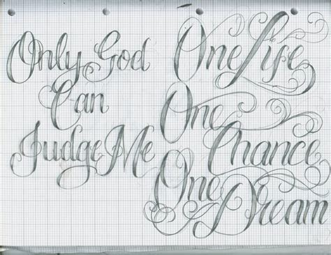 tattoo lettering   kathylees  deviantart